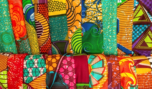 Color & Pop: African Fabric Delight