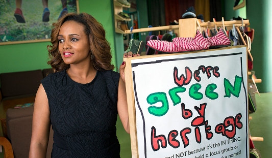 Bethlehem Tilahun  Alemu's soleRebels (Finally!) Arrives In Silicon Valley