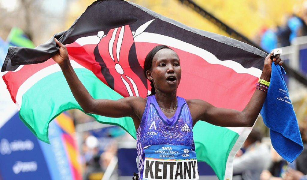 Kenya's Stanley Biwott & Mary Keitany Emerge As Winners In The World's Largest Foot Race