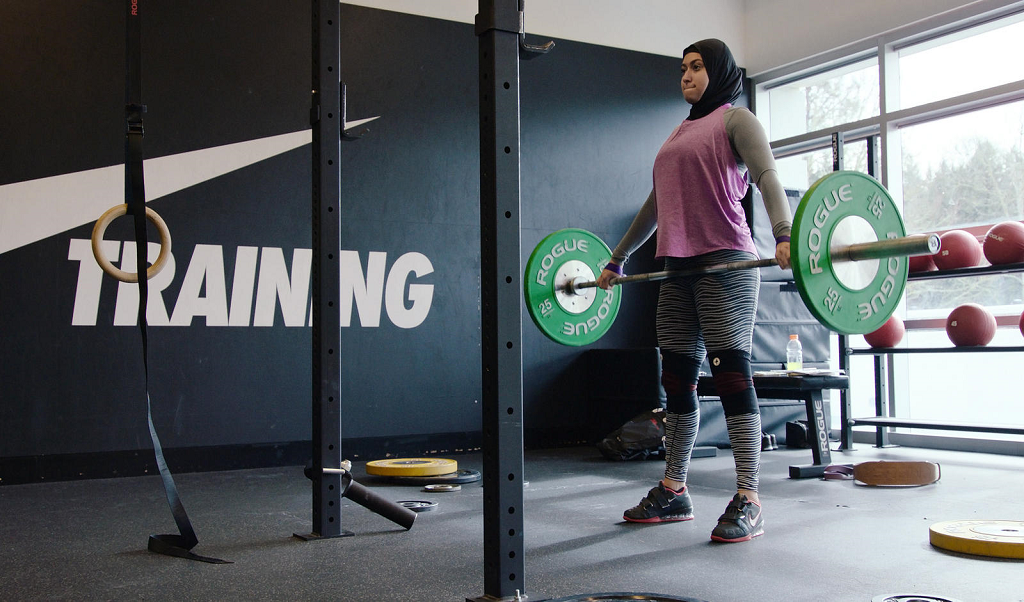 Raising The Bar: Nike Features Emirati Weightlifter, Amna Al Haddad