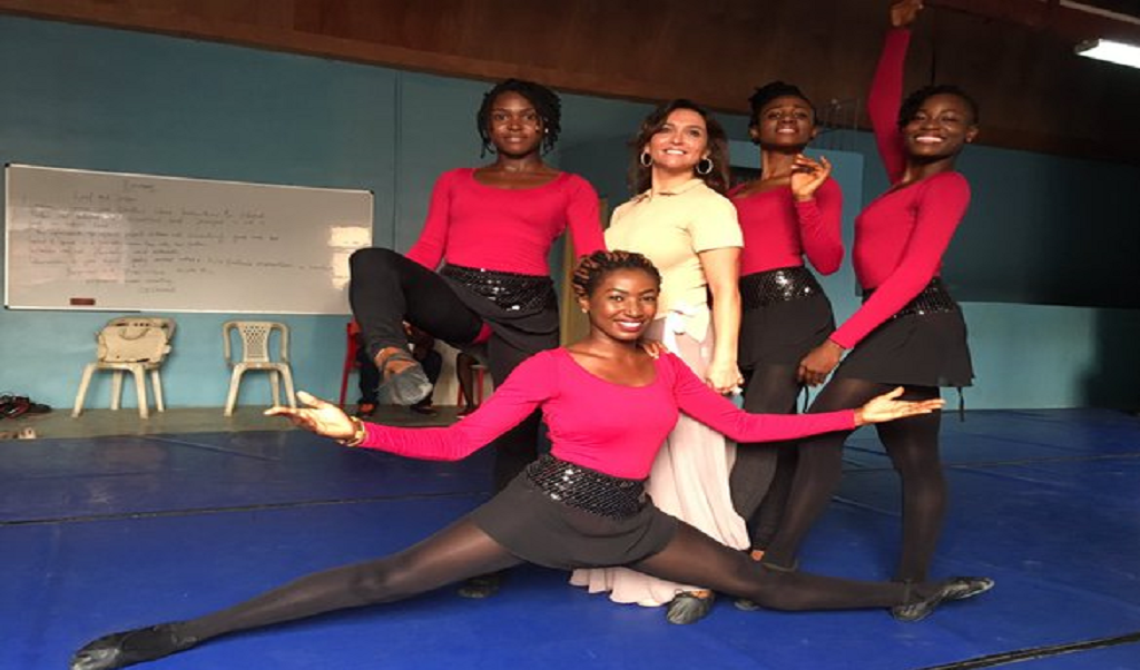 Lebanese-Nigerian Sarah Boulos Makes Magic With Nigerian Ballet Dancers
