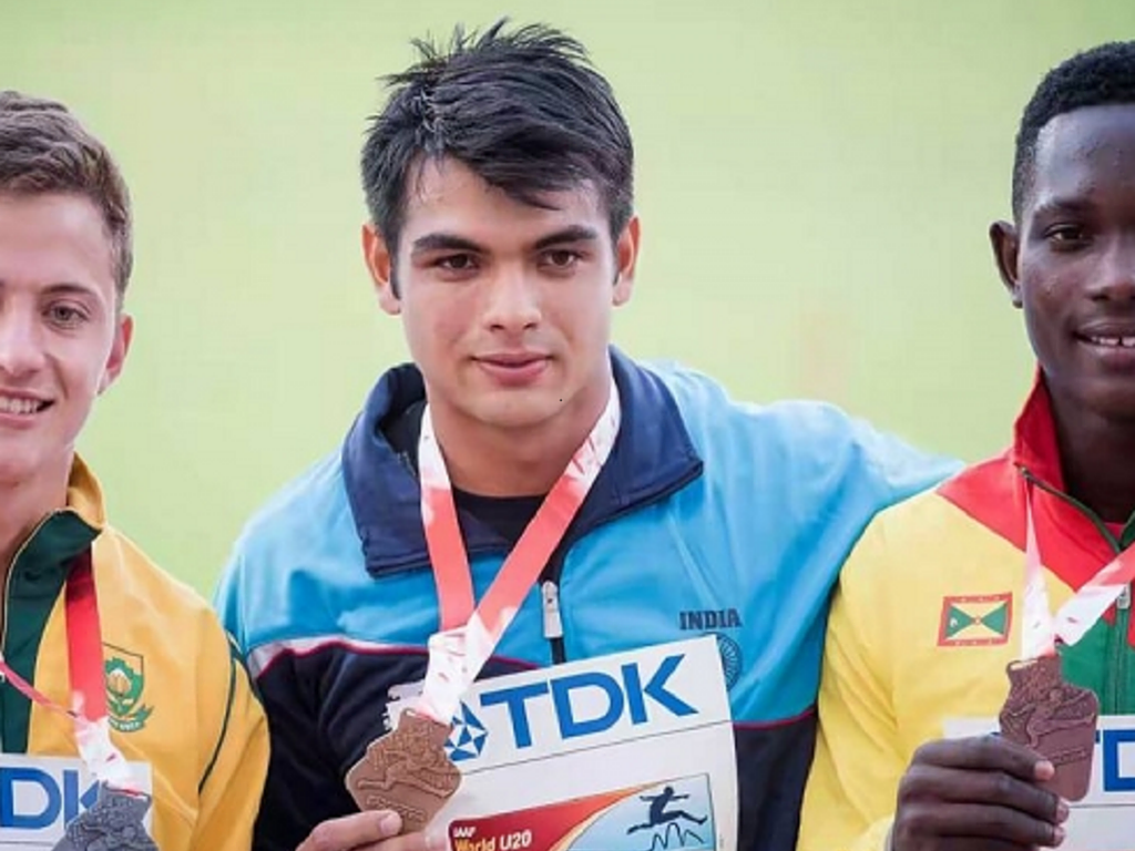 India's Neeraj Chopra Sets A New U-20 Javelin World Record