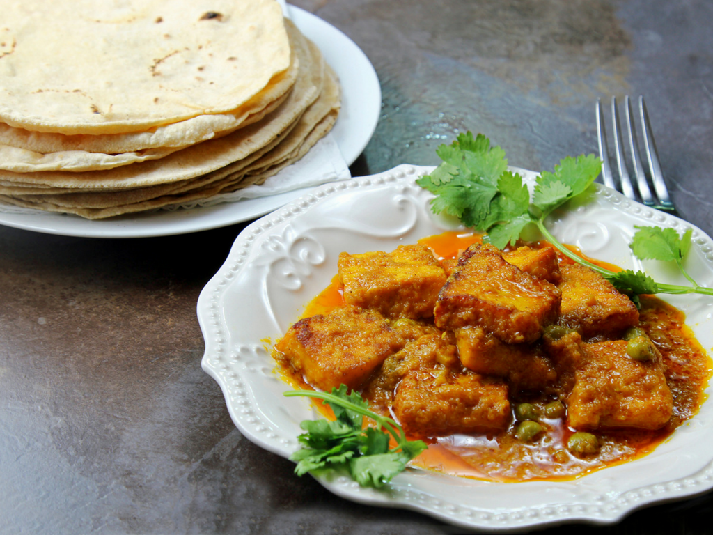 A Quick And Easy North Indian Vegetarian Meal