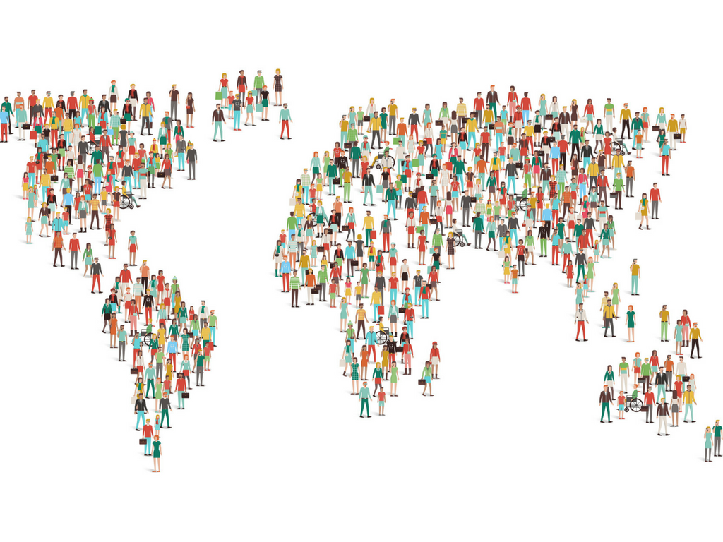 Watch The World's Population Grow To 7 Billion People In A Little Over 6 Minutes